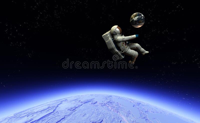 Astronaute 12 illustration libre de droits