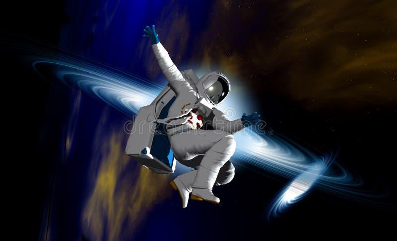 Astronaute 25 illustration libre de droits