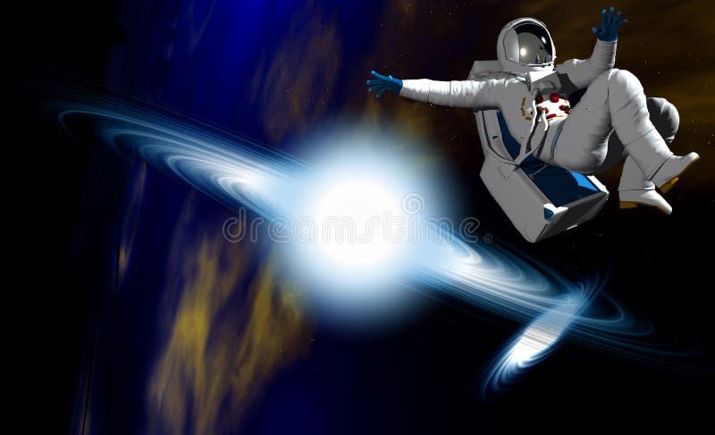 Astronaute 37 illustration libre de droits