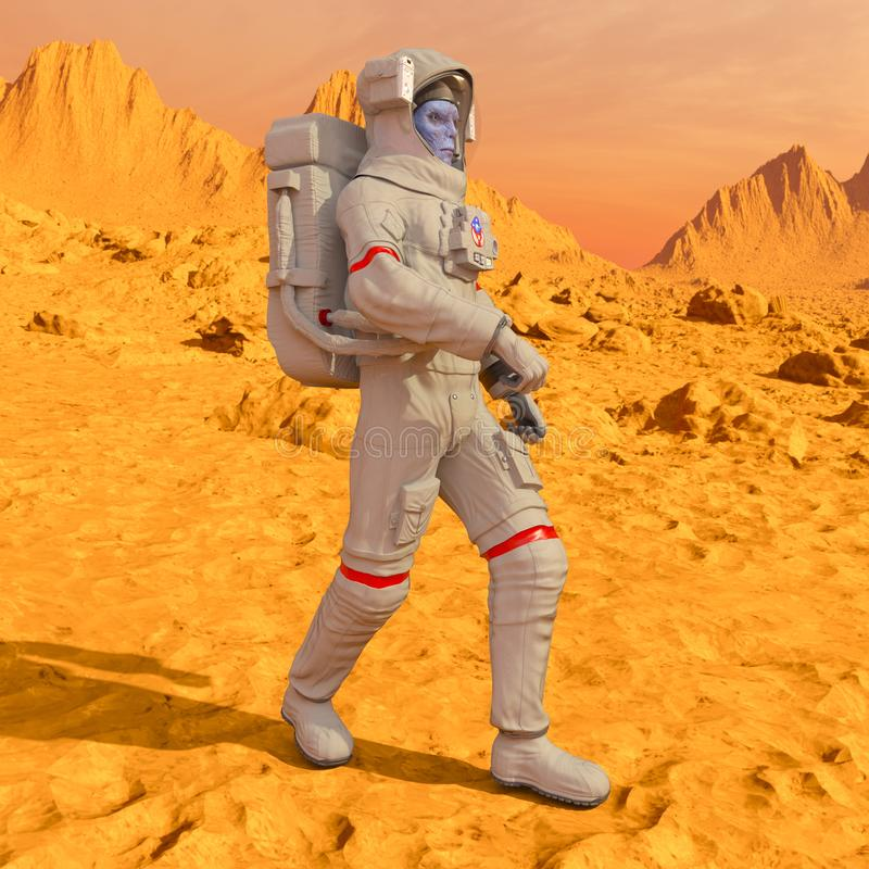 Astronaute d'étrangers photos stock