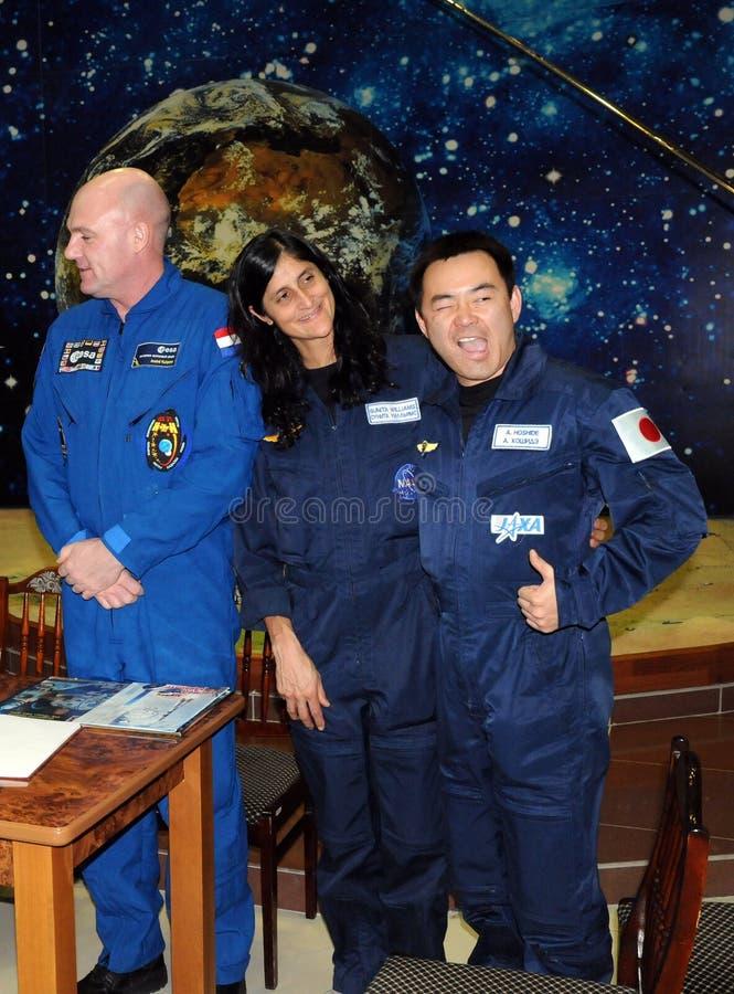Astronauten in het RuimteMuseum royalty-vrije stock fotografie