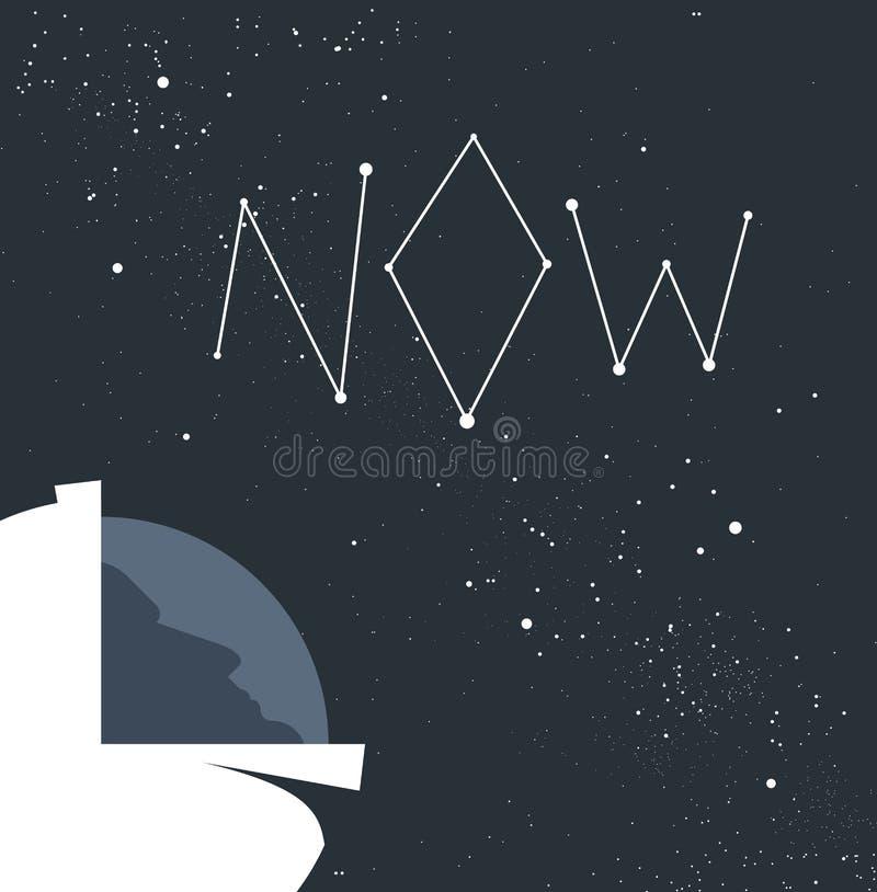 Astronautenconcept vector illustratie