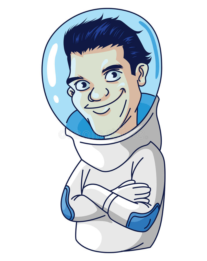Astronauts royalty free illustration