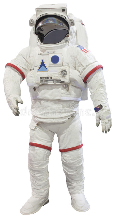 Free Astronauts Suit Isolated White Stock Photos - 30941623