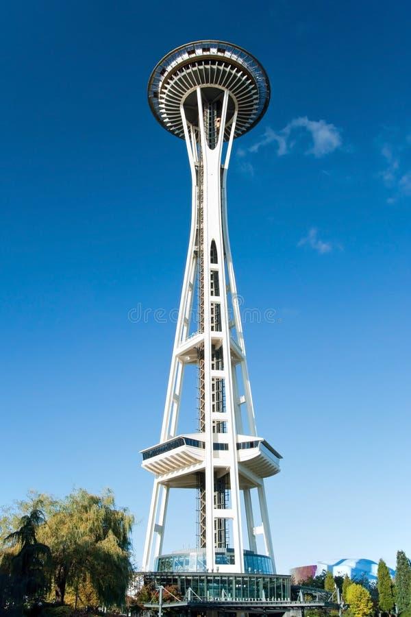 Astronautyczna igła w Seattle obraz stock
