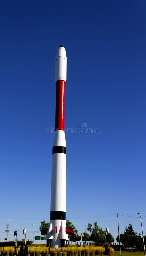 Astronautyczna rakieta zdjęcie stock