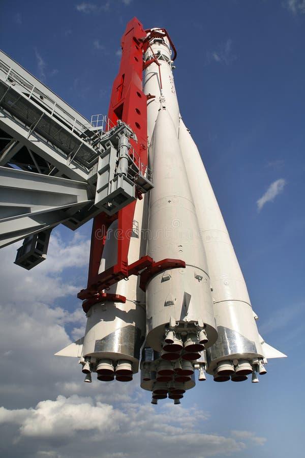 Astronautyczna rakieta. VVC, Moskwa zdjęcie stock