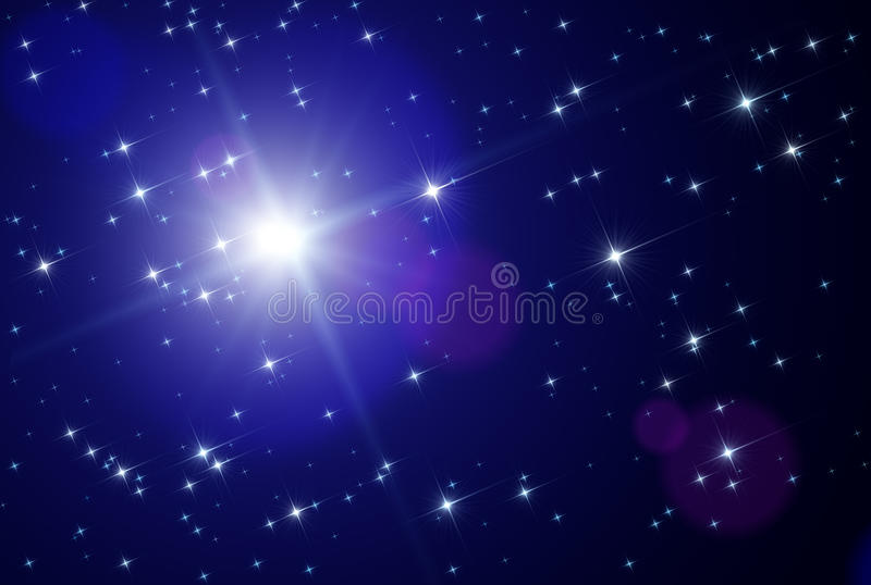astronautyczne gwiazdy ilustracja wektor