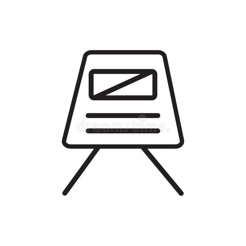 Astronautycznej kapsuły ikony wektoru znak i symbol odizolowywający na białym tle ilustracja wektor