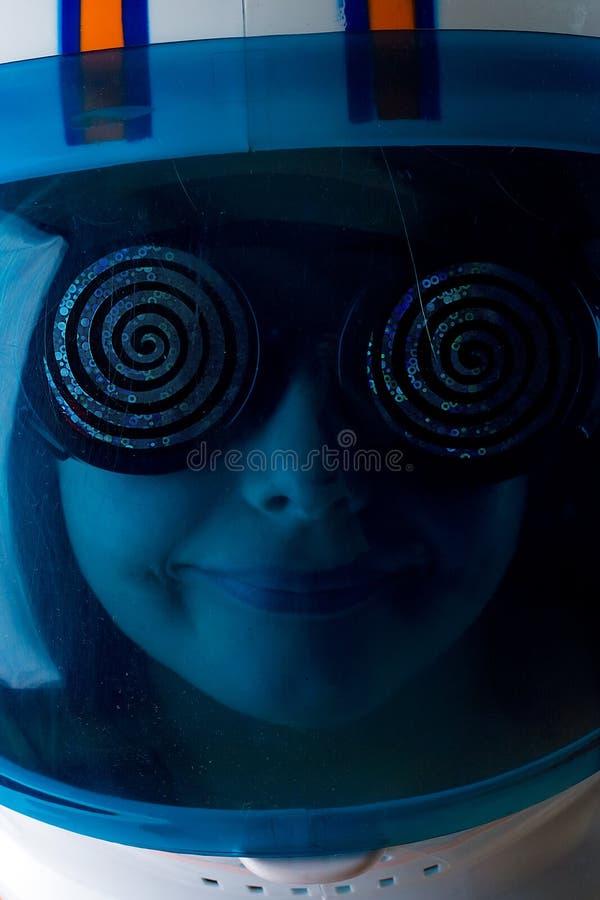 Astronautyczny dziecko Podróżnik obrazy stock