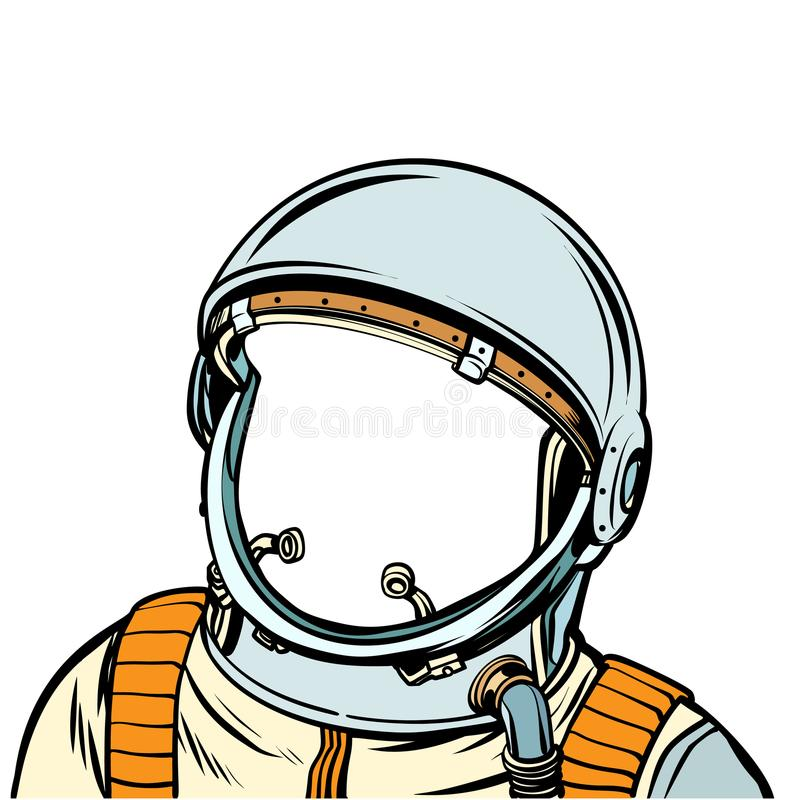 Astronautyczny kostium astronauci royalty ilustracja