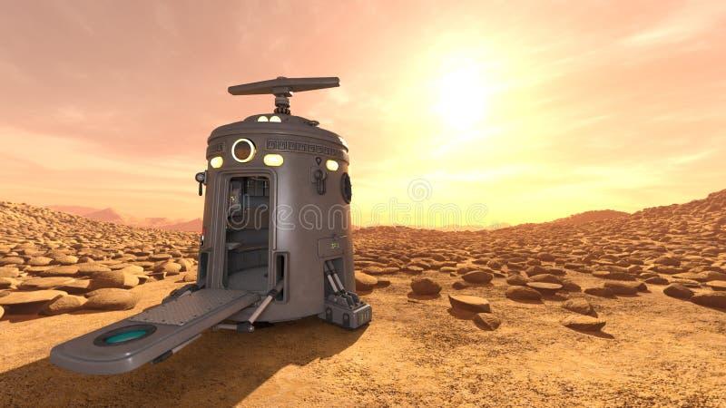 Astronautyczny lander obraz stock