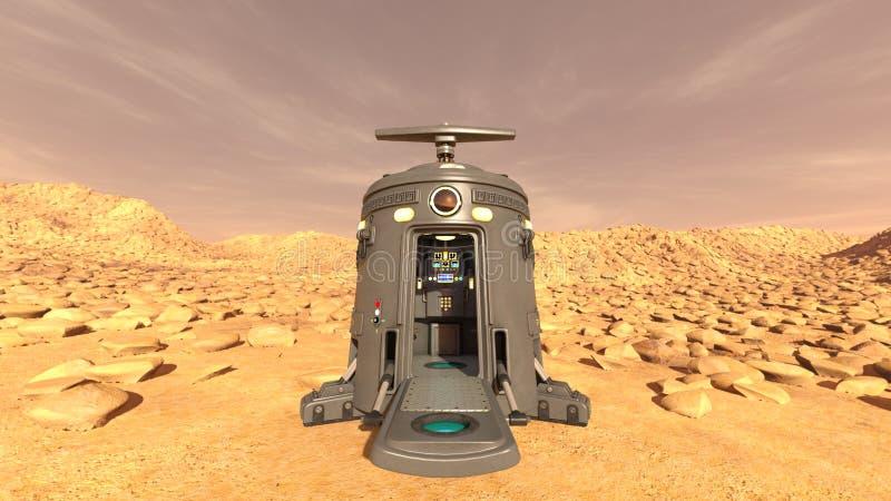 Astronautyczny lander obrazy royalty free