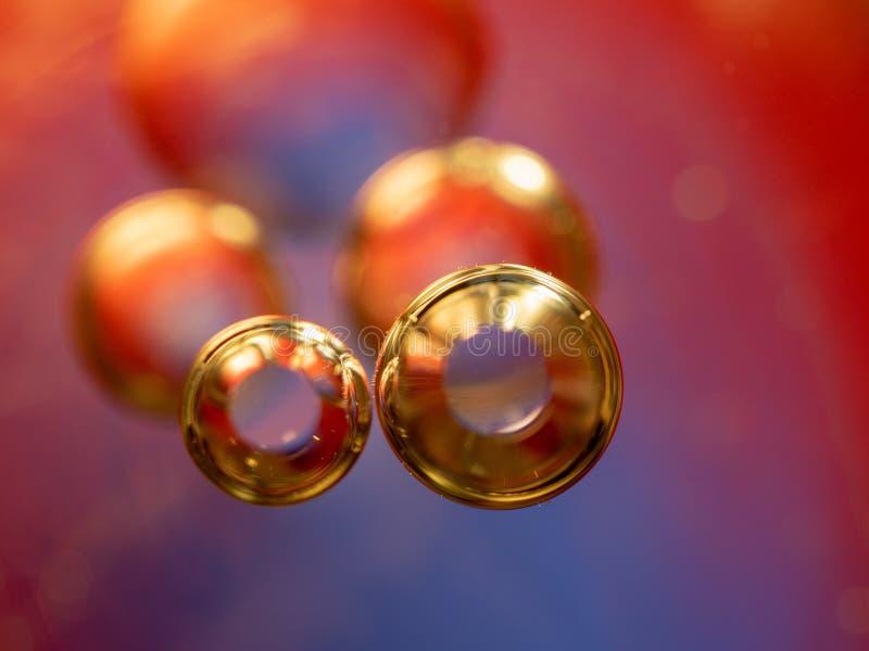 Astronautyczny lub planety wszechrzeczy pozaziemski abstrakcjonistyczny tło Abstrakcjonistyczny molekuła atomu sctructure niebies obraz royalty free
