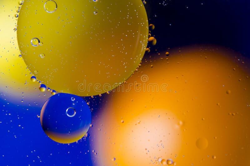 Astronautyczny lub planety wszechrzeczy pozaziemski abstrakcjonistyczny tło Abstrakcjonistyczny molekuła atomu sctructure Makro-  zdjęcie royalty free