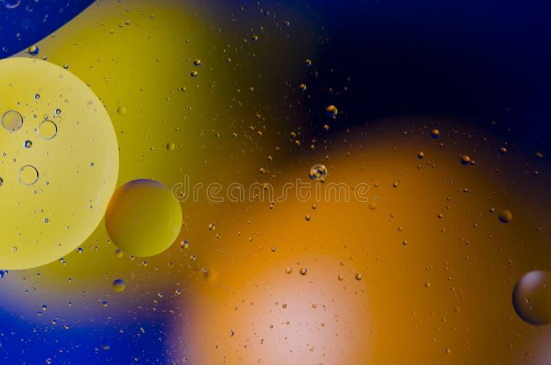 Astronautyczny lub planety wszechrzeczy pozaziemski abstrakcjonistyczny tło Abstrakcjonistyczny molekuła atomu sctructure Makro-  fotografia stock