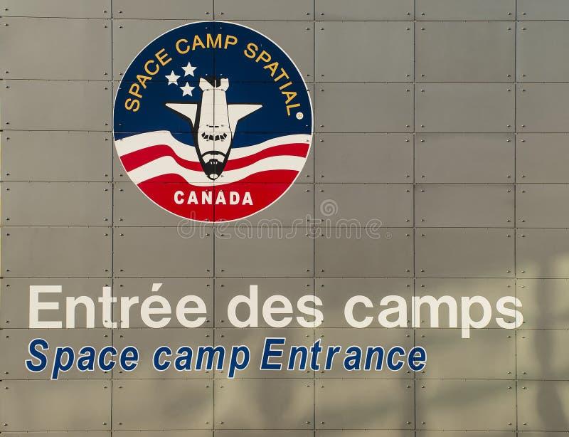 Astronautyczny Obóz fotografia royalty free