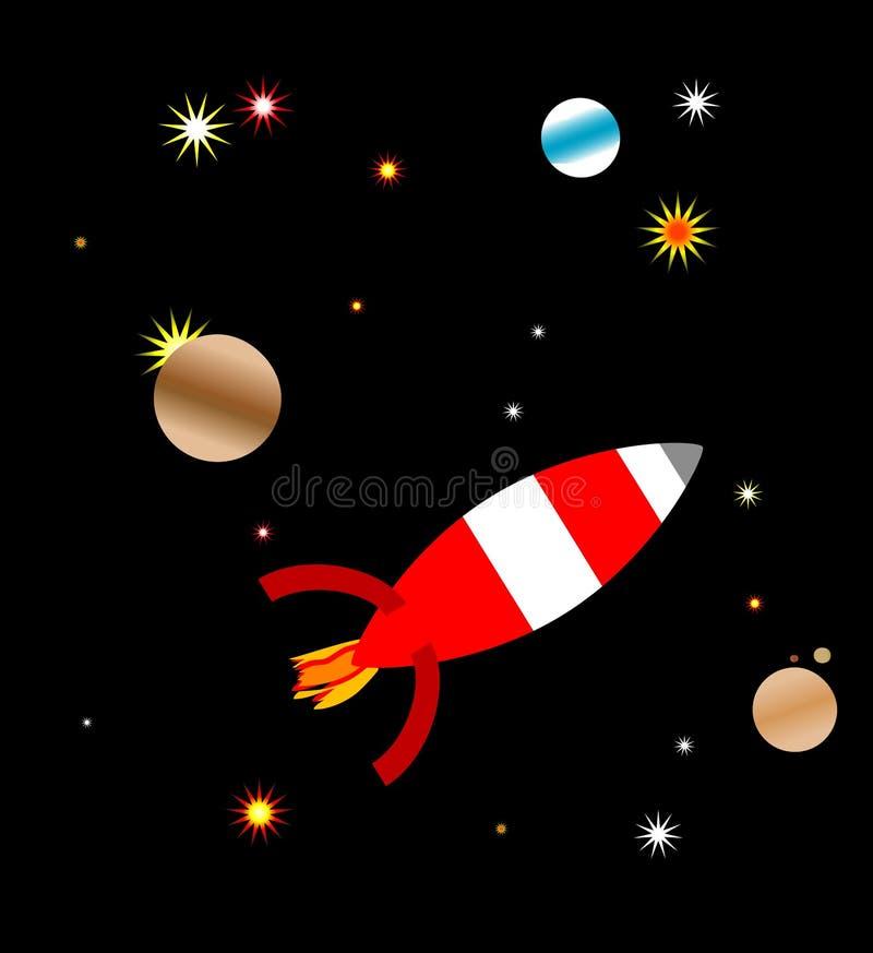 Astronautyczny statek zdjęcie royalty free