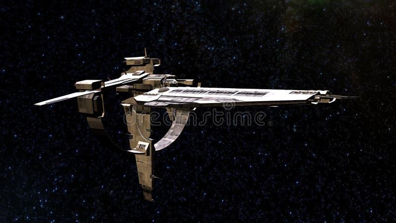 Astronautyczny statek royalty ilustracja