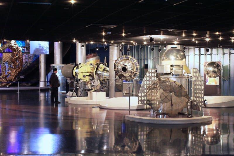 Astronautyczny Subjugators muzeum VVC. Moskwa, Rosja zdjęcie royalty free