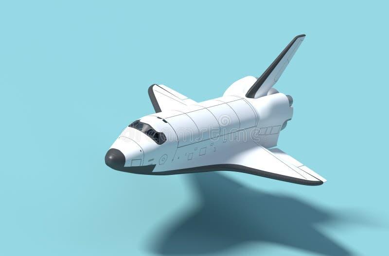 Astronautyczny wahadłowiec ilustracja wektor