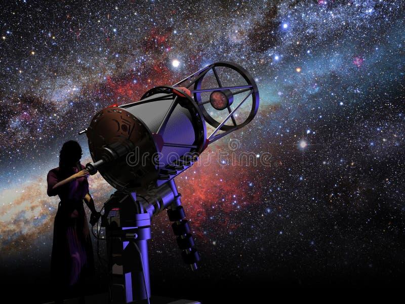 Astronomía ilustración del vector