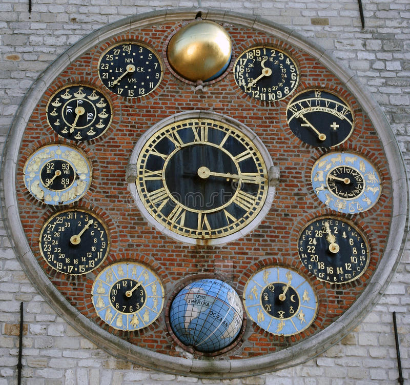 Free Astronomic Clockworcks Stock Photography - 10764822