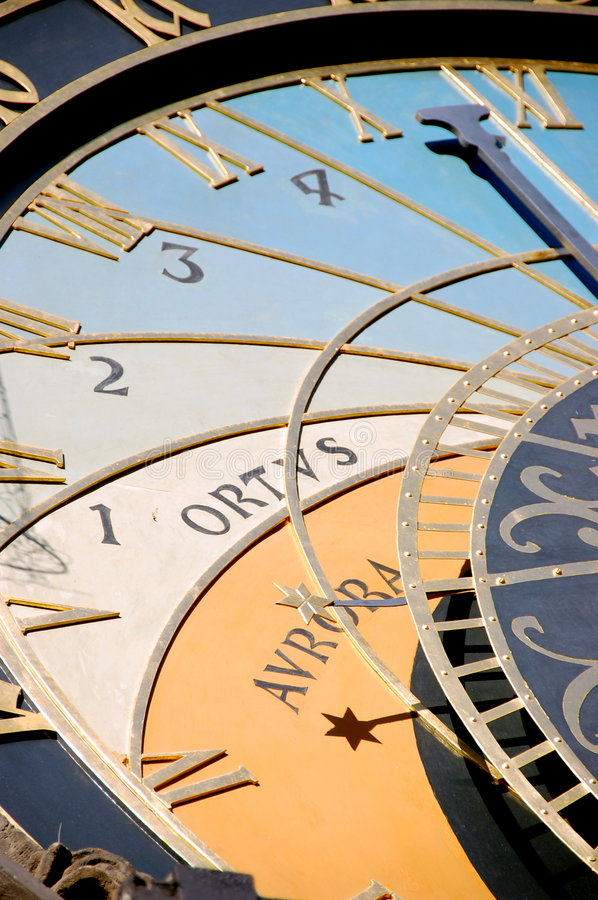 Download Astronomical clock stock photo. Image of facing, culture - 7109448