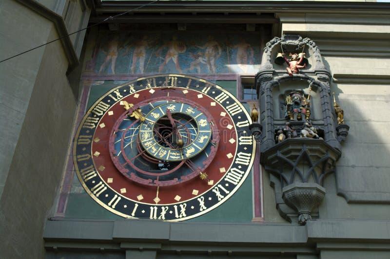 Astronomical clock in Bern royalty free stock photos