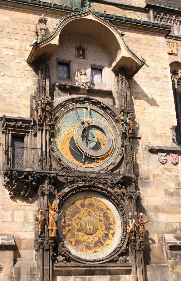 Download Astronomical Clock In Prague Stock Image - Image of number, medieval: 27263717