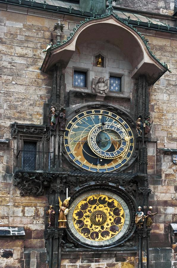 Download Astronomical clock Prague stock image. Image of explorer - 28209277