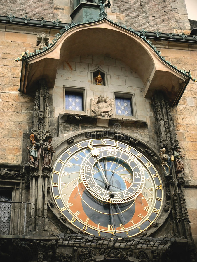 Download Astronomical Clock In Prague Royalty Free Stock Photos - Image: 4362838