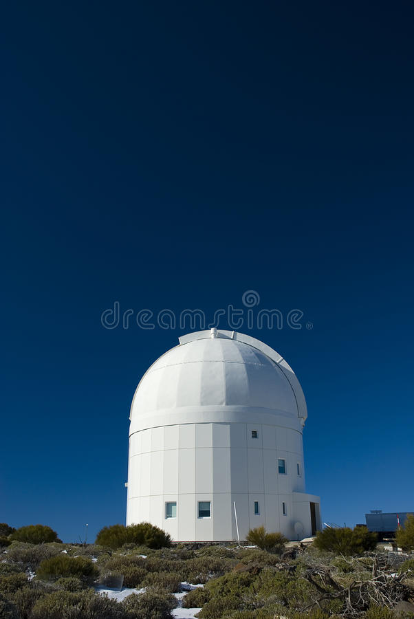 Astronomical observatory royalty free stock photo