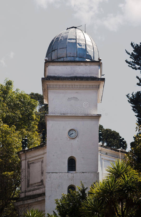 Astronomical Observatory Bogota Colombia royalty free stock image
