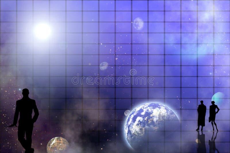 Astronomie illustration libre de droits
