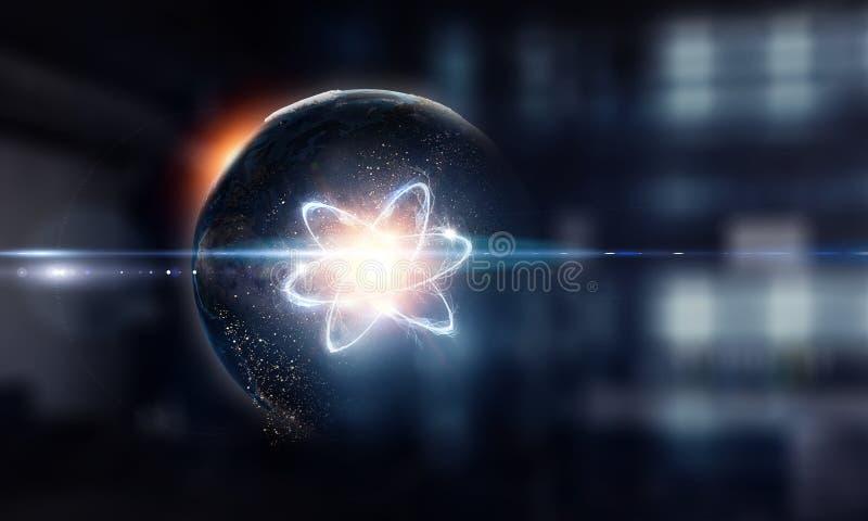 Astronomii pojęcia tło świadczenia 3 d obrazy stock