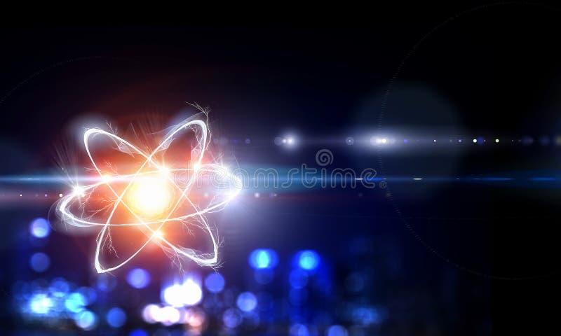 Astronomii pojęcia tło zdjęcie stock
