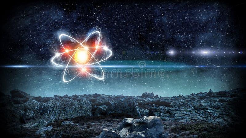 Astronomii pojęcia tło zdjęcia royalty free