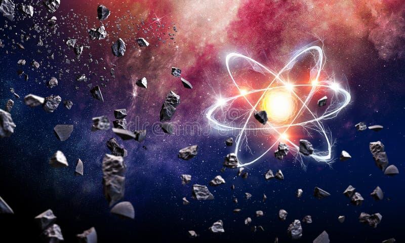 Astronomii pojęcia tło obrazy stock
