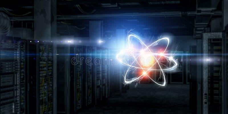 Astronomii pojęcia tło zdjęcia stock
