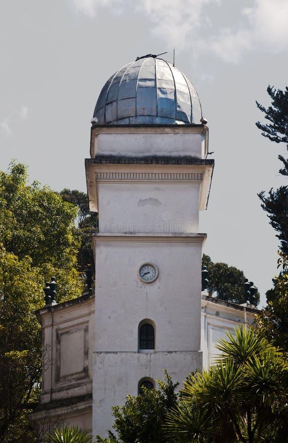 Astronomisches Beobachtungsgremium Bogota Kolumbien lizenzfreies stockbild