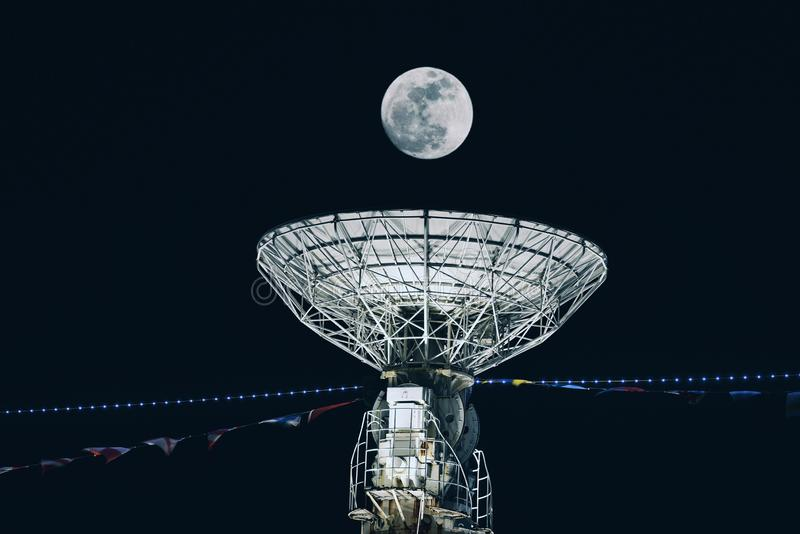Astronomisches Teleskop stockbild