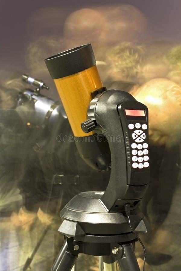 Astronomisches Teleskop lizenzfreie stockfotos