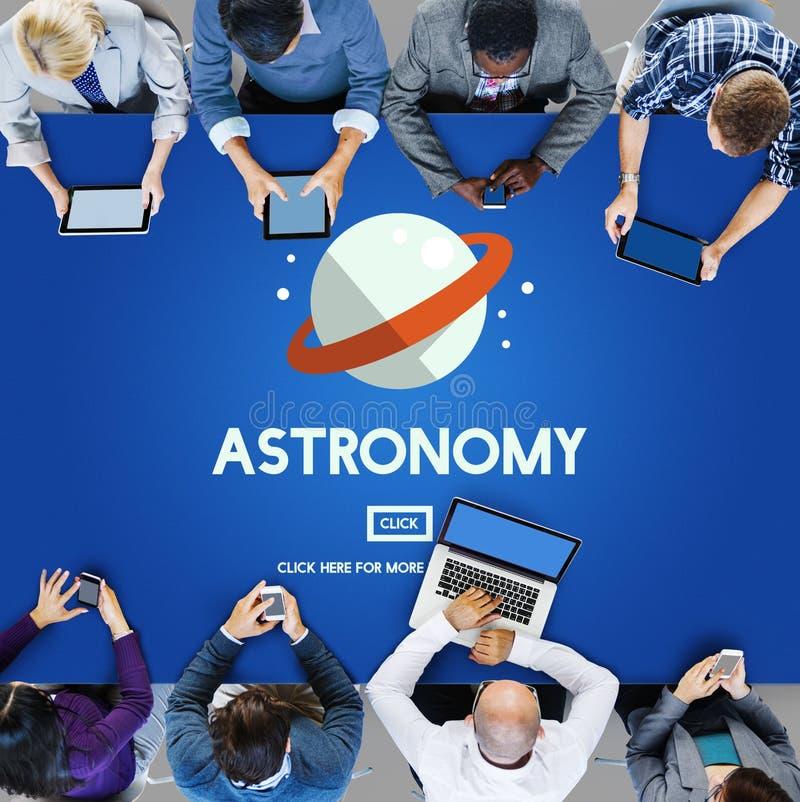 Astronomy Big Bang Planet Spaceship Concept stock photos