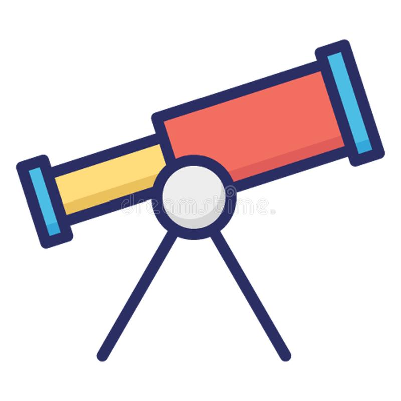 Astronomy, planetarium isolated Vector Icon which can easily modify or edit vector illustration