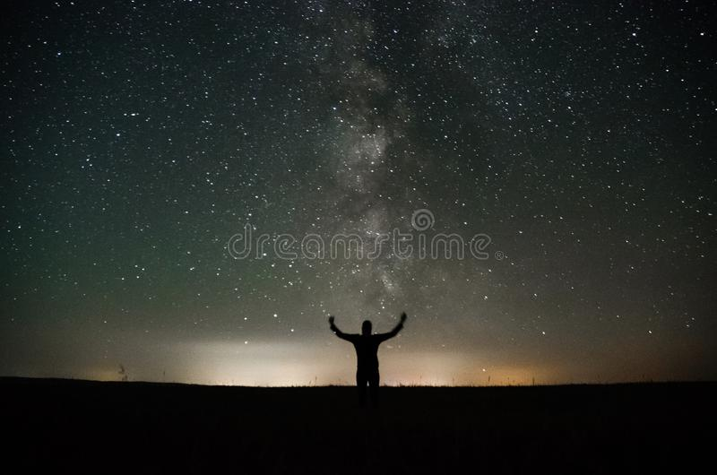 Astrophotography photographie stock