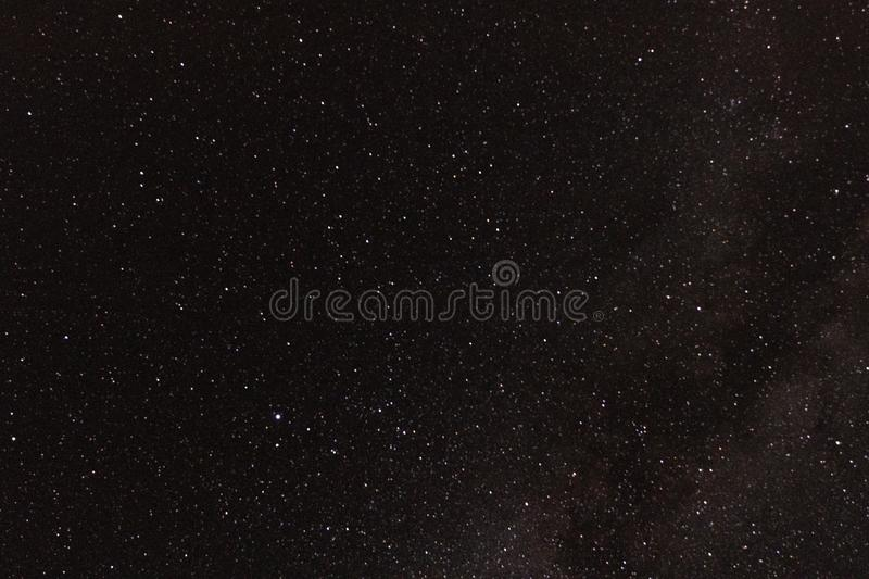 Astrophotography galaxy star background for astronomy, space or cosmos, a night sky universe, interstellar science fiction royalty free stock photography