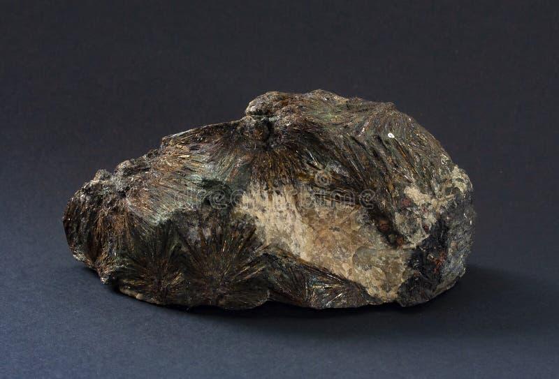 Astrophyllite mineral de Rússia imagens de stock royalty free