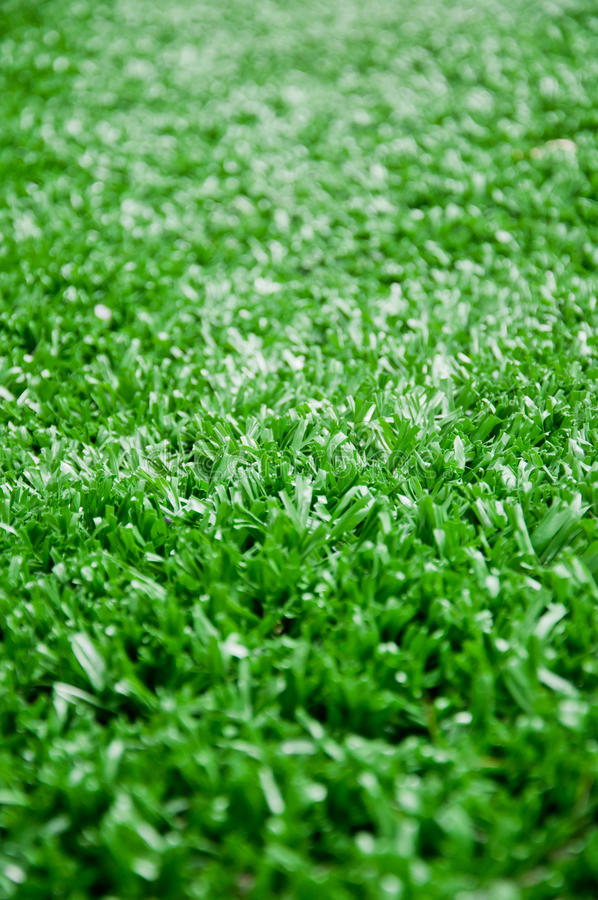 Astroturf dla piłki nożnej jako tło obrazy stock
