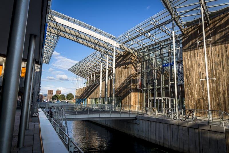Astrup Fearnley现代艺术博物馆,奥斯陆,挪威 免版税图库摄影